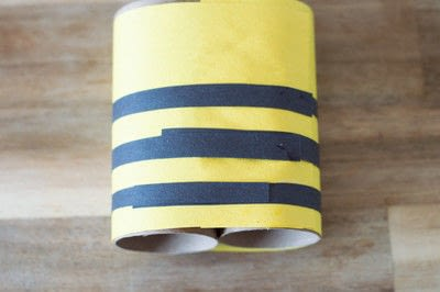How to make a toy. Bee Noculars - Step 4