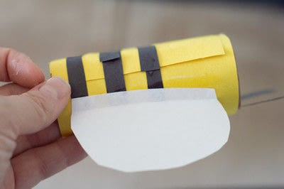 How to make a toy. Bee Noculars - Step 6