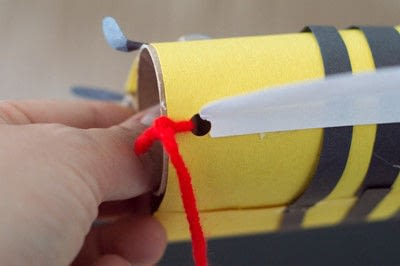 How to make a toy. Bee Noculars - Step 7
