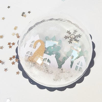How to make a Christmas decoration. Unique Christmas Greetings With This 3 D Christmas Card - Step 6