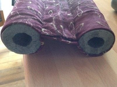 How to make a home accessory. Draught Excluder - Step 4