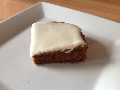 How to bake a bar / slice. Gingerbread Bars - Step 6