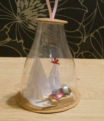 How to make a Christmas tree ornament. Christmas Ball - Step 1