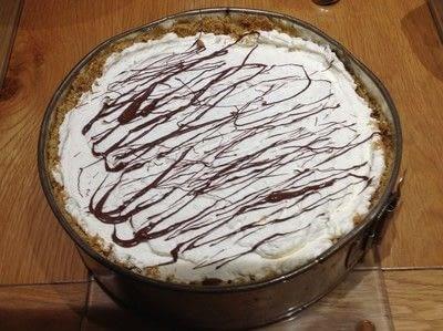 How to bake a cheesecake. Bounty Cheesecake - Step 6
