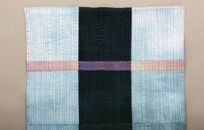 How to make a tablecloth / table runner. Modern Madras Reversible Table Runner - Step 11