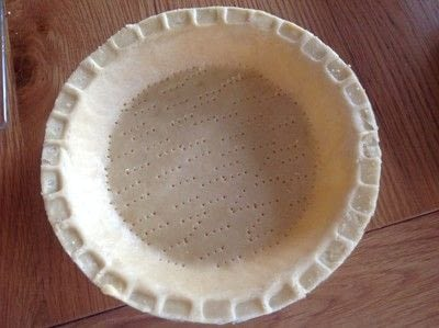 How to bake a chocolate tart. Baileys Caramel Tart - Step 2