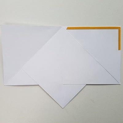 How to make a Christmas decoration. Diy Christmas Decoration: Paper Christmas Tree - Step 3