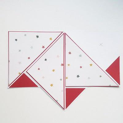 How to make a Christmas decoration. Diy Christmas Decoration: Paper Christmas Tree - Step 7