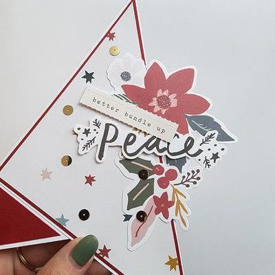 How to make a Christmas decoration. Diy Christmas Decoration: Paper Christmas Tree - Step 9