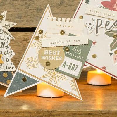 How to make a Christmas decoration. Diy Christmas Decoration: Paper Christmas Tree - Step 10