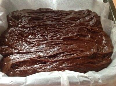 How to make fudge. Micro Fudge - Step 2