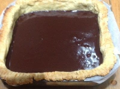 How to bake a chocolate tart. Double Chocolate Ganache Tarte - Step 4