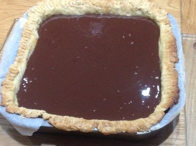 How to bake a chocolate tart. Double Chocolate Ganache Tarte - Step 6