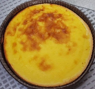 How to bake a custard tart. Custard Pastry - Step 2