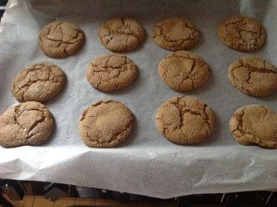 How to bake a gingerbread cookie. Chewy Ginger Cookies  - Step 5