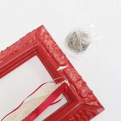How to make a decoration. Romantic Valentine's Decoration - Step 3