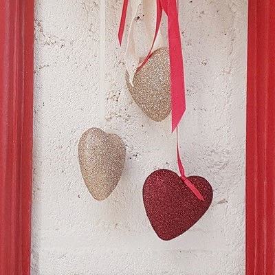 How to make a decoration. Romantic Valentine's Decoration - Step 7