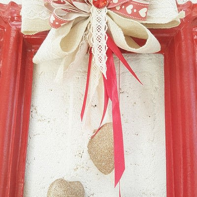 How to make a decoration. Romantic Valentine's Decoration - Step 8