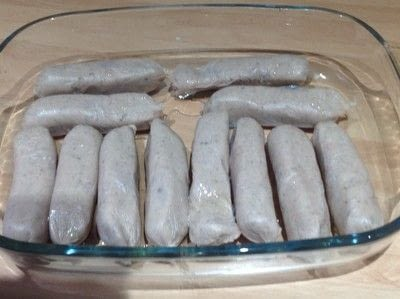 How to cook a sausage dish. Toad In The Hole - Step 4