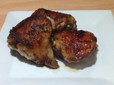 How to cook a chicken dish. Juicy Chicken Thighs  - Step 4