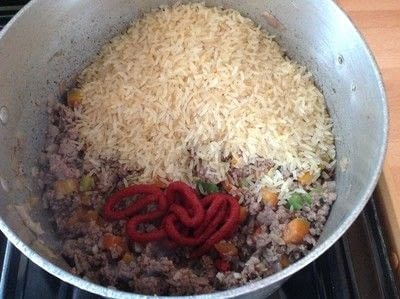 How to cook a beef dish. Texas Hash - Step 2