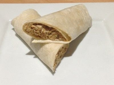 How to cook a chicken dish. Mexican Chicken Wraps - Step 5