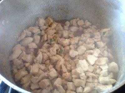 How to cook a chicken dish. Spicy Thai Basil Chicken  - Step 4