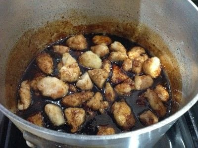 How to cook a chicken dish. Sticky Garlic Chicken - Step 3