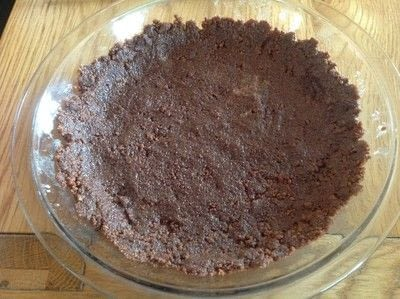 How to bake a chocolate tart. Chocolate Marshmallow Tart - Step 1