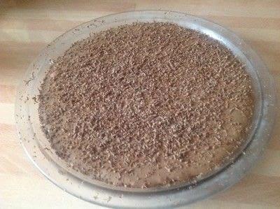 How to bake a chocolate tart. Chocolate Marshmallow Tart - Step 6