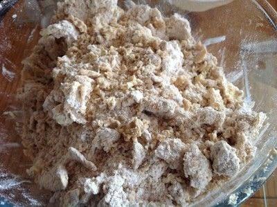 How to bake a coffee cake. New York Crumb Cake - Step 2