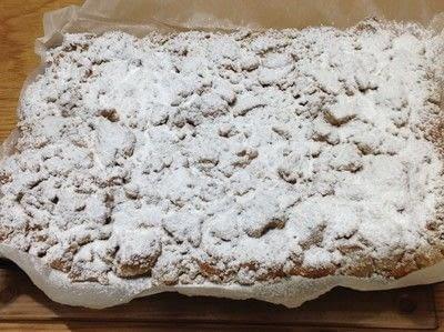 How to bake a coffee cake. New York Crumb Cake - Step 8