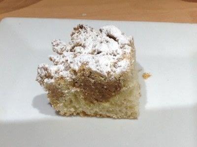 How to bake a coffee cake. New York Crumb Cake - Step 9
