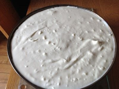 How to bake a cheesecake. White Chocolate & Lime Cheesecake  - Step 11