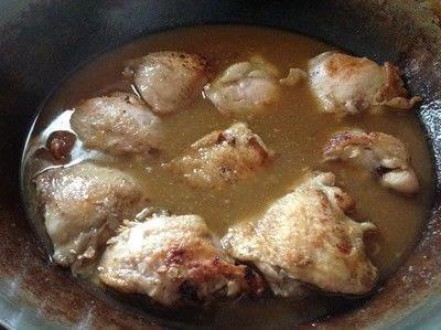 How to cook a chicken dish. Garlic Chicken & Rice - Step 6