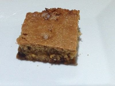 How to bake a bar / slice. Butter Chip Bars - Step 6