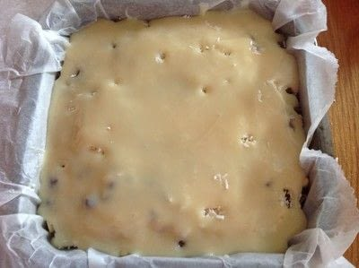 How to bake a bar / slice. Chocolate Dream Bars - Step 4