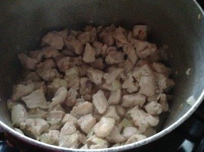 How to cook a chicken dish. Bourbon Chicken  - Step 3