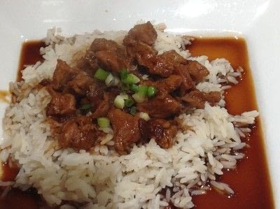 How to cook a chicken dish. Bourbon Chicken  - Step 5