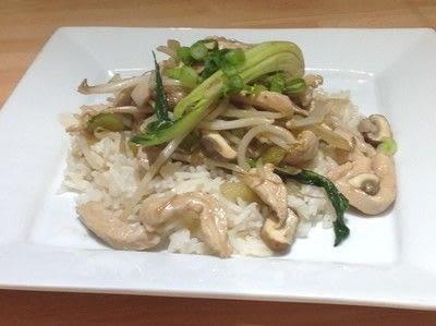 How to cook a chicken dish. Chicken Chop Suey - Step 8