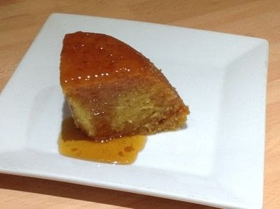 How to bake a sponge cake. Treacle Sponge Pudding  - Step 7
