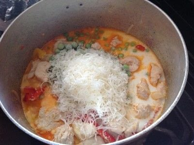 How to cook a chicken dish. Chipotle Chicken Pasta - Step 5