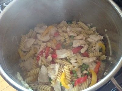 How to cook a chicken dish. Chipotle Chicken Pasta - Step 6