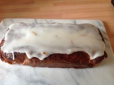 How to bake an orange cake. Orange Marmalade Loaf - Step 7