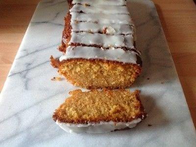 How to bake an orange cake. Orange Marmalade Loaf - Step 8