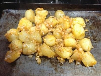 How to cook a potato dish. Portuguese Potatoes  - Step 2