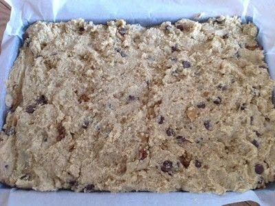 How to bake a bar / slice. Congo Bars - Step 5