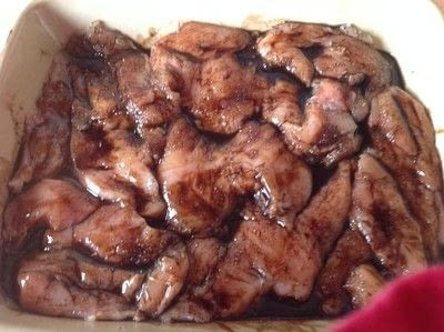 How to cook a chicken dish. Baked Balsamic Chicken  - Step 2