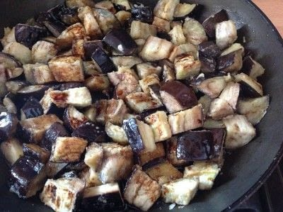 How to cook a vegetable dish. Aubergine In Garlic Sauce  - Step 7