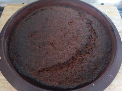 How to bake a banana cake. Banana Cake - Step 21